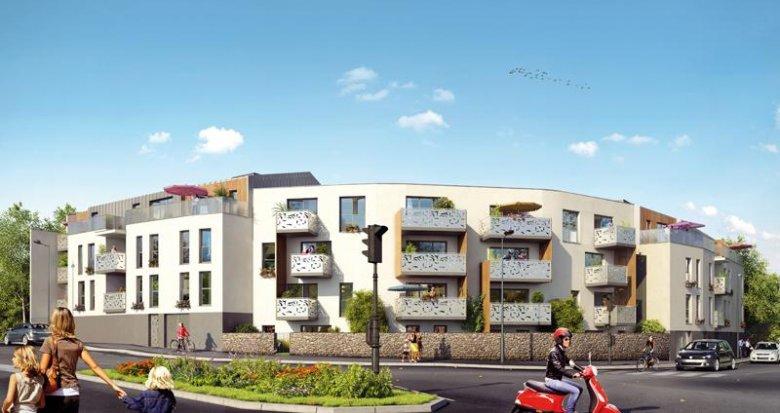 Achat / Vente appartement neuf Nantes quartier Hippodrome (44000) - Réf. 1090