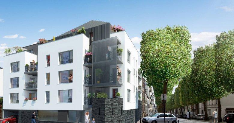 Achat / Vente appartement neuf Nantes quartier Melllinet (44000) - Réf. 438