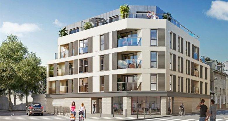 Achat / Vente appartement neuf Nantes quartier Monselet (44000) - Réf. 1592