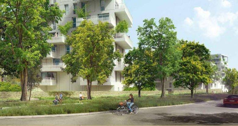 Achat / Vente appartement neuf Nantes quartier Pont du Cens (44000) - Réf. 3321