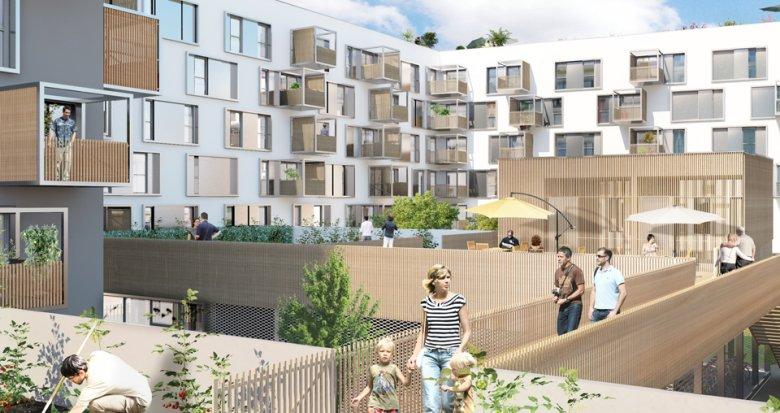 Achat / Vente appartement neuf Nantes quartier Prairie-au-duc (44000) - Réf. 866