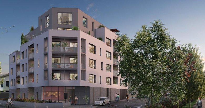 Achat / Vente appartement neuf Nantes quartier Procé (44000) - Réf. 2787