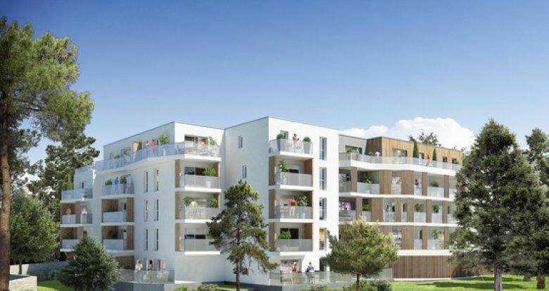 Achat / Vente appartement neuf Nantes quartier Procé proche commodités (44000) - Réf. 1249