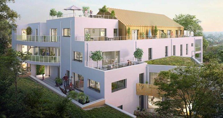 Achat / Vente appartement neuf Nantes quartier résidentiel calme (44000) - Réf. 729
