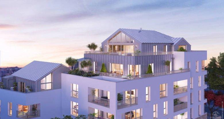 Achat / Vente appartement neuf Nantes quartier résidentiel des Hauts-Pavés (44000) - Réf. 4197