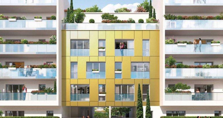 Achat / Vente appartement neuf Nantes quartier Romanet à deux pas du tram (44000) - Réf. 6166