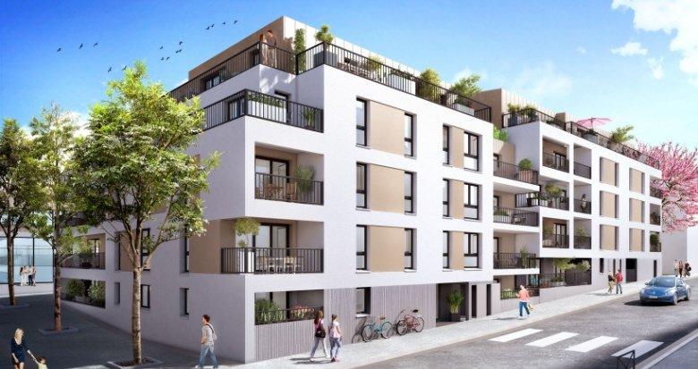 Achat / Vente appartement neuf Nantes Quartier Saint-Félix (44000) - Réf. 2209