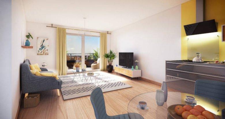 Achat / Vente appartement neuf Nantes quartier Saint-Jacques (44000) - Réf. 4322