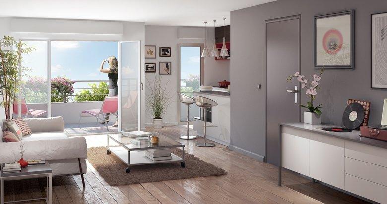Achat / Vente appartement neuf Nantes quartier Saint-Jacques (44000) - Réf. 953