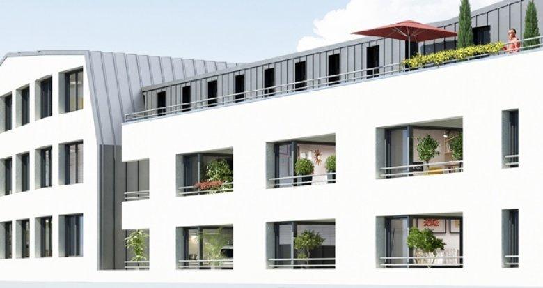 Achat / Vente appartement neuf Nantes quartier Saint-Joseph de Porterie (44000) - Réf. 1166