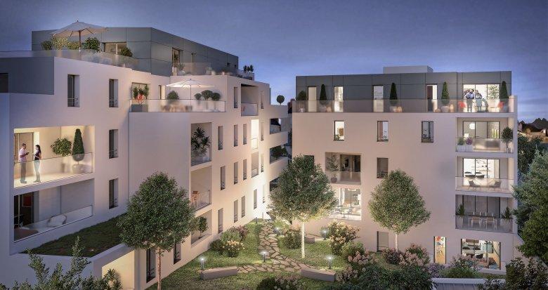 Achat / Vente appartement neuf Nantes quartier Tortière (44000) - Réf. 3527