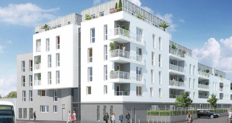 Achat / Vente appartement neuf Nantes quartier Zola-Croix Bonneau – TVA réduite (44000) - Réf. 1051