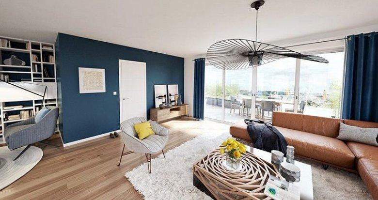 Achat / Vente appartement neuf Nantes quartier Zola/Mellinet/Procé (44000) - Réf. 788