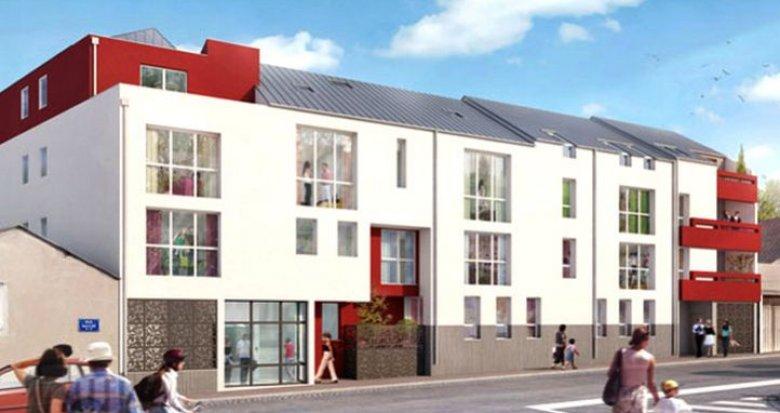 Achat / Vente appartement neuf Nantes route de Clisson (44000) - Réf. 737
