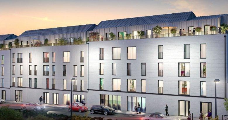 Achat / Vente appartement neuf Nantes Saint-Clément (44000) - Réf. 4647