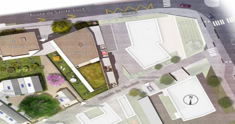 Achat / Vente appartement neuf Nantes secteur Doulon proche tramway (44000) - Réf. 4719