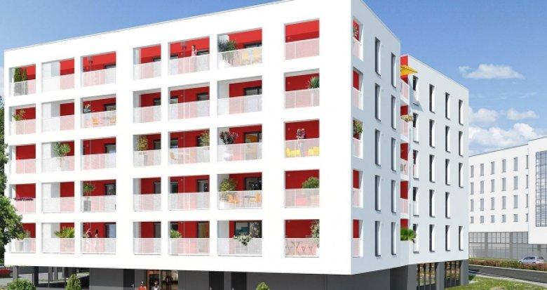 Achat / Vente appartement neuf Nantes secteur Einstein (44000) - Réf. 377