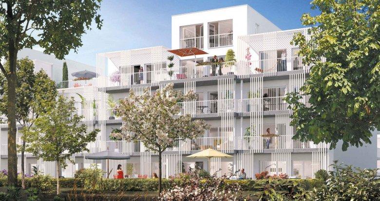 Achat / Vente appartement neuf Nantes secteur La Beaujoire (44000) - Réf. 1986