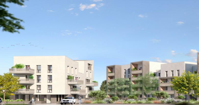 Achat / Vente appartement neuf Nantes secteur Pont du Cens (44000) - Réf. 5396