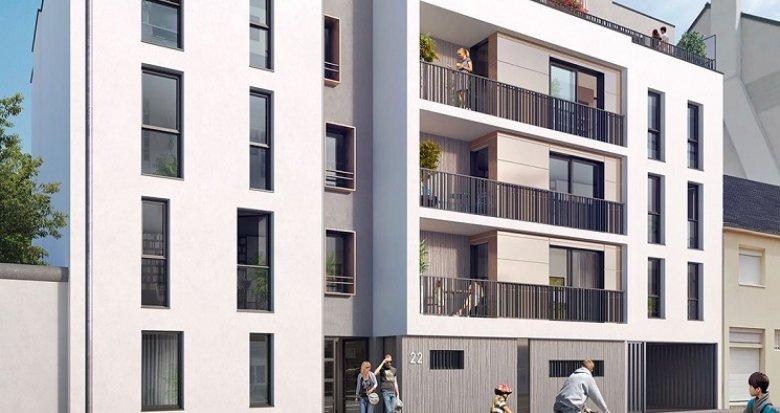 Achat / Vente appartement neuf Nantes secteur Saint Félix (44000) - Réf. 1163