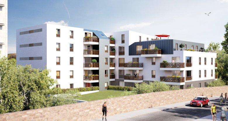 Achat / Vente appartement neuf NANTES VALLEE DU CENS (44000) - Réf. 2108
