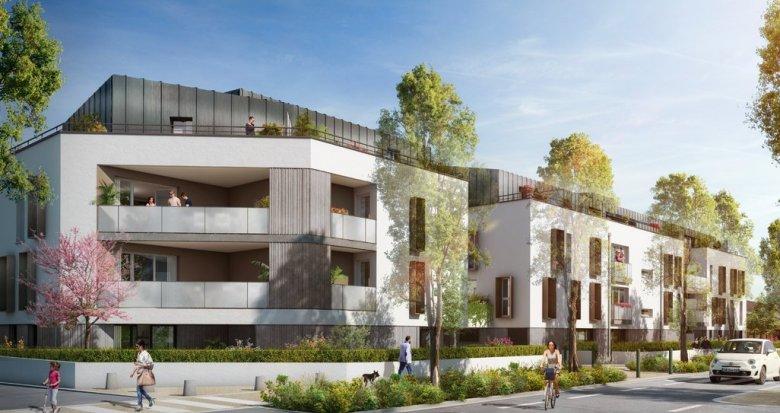 Achat / Vente appartement neuf Nantes Vieux Doulon proche du parc du Grand Blottereau (44000) - Réf. 3325