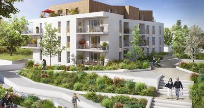 Achat / Vente appartement neuf Nort-Sur-Erdre quartier Faubourg Saint-Georges (44390) - Réf. 3052
