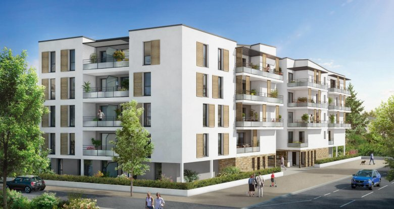 Achat / Vente appartement neuf Orvault proches commerces et transports (44700) - Réf. 3050