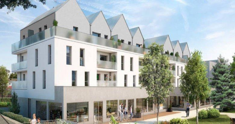 Achat / Vente appartement neuf Pontchâteau ilot des centrais (44160) - Réf. 5300
