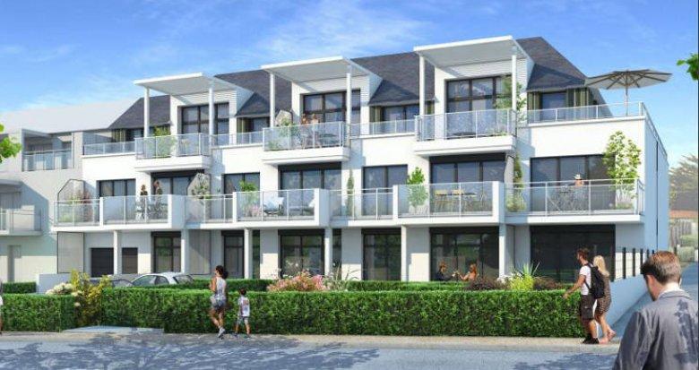 Achat / Vente appartement neuf Pornichet à a 50m de la plage Sainte-Marguerite (44380) - Réf. 5654