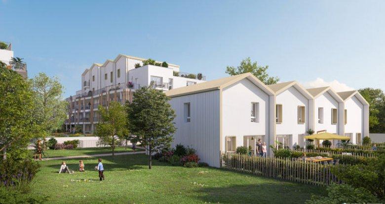 Achat / Vente appartement neuf Rezé à 15 min du centre de Nantes (44400) - Réf. 4971