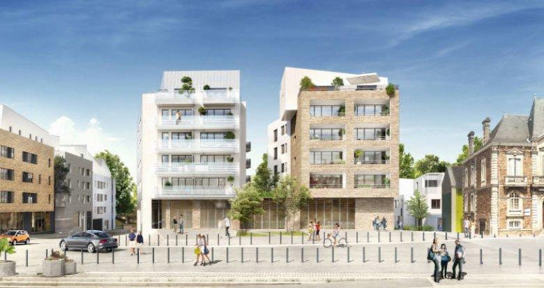 Achat / Vente appartement neuf Rezé au coeur du centre historique et des commodités (44400) - Réf. 4176