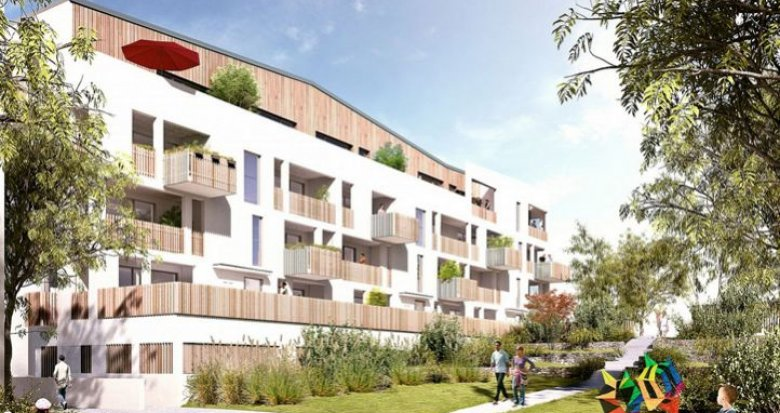 Achat / Vente appartement neuf Rezé lieu verdoyant (44400) - Réf. 112