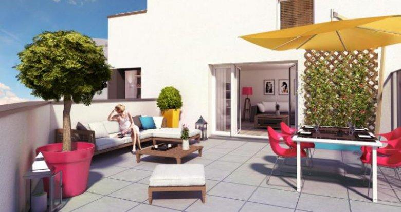 Achat / Vente appartement neuf Rezé quartier Pont-Rousseau (44400) - Réf. 774