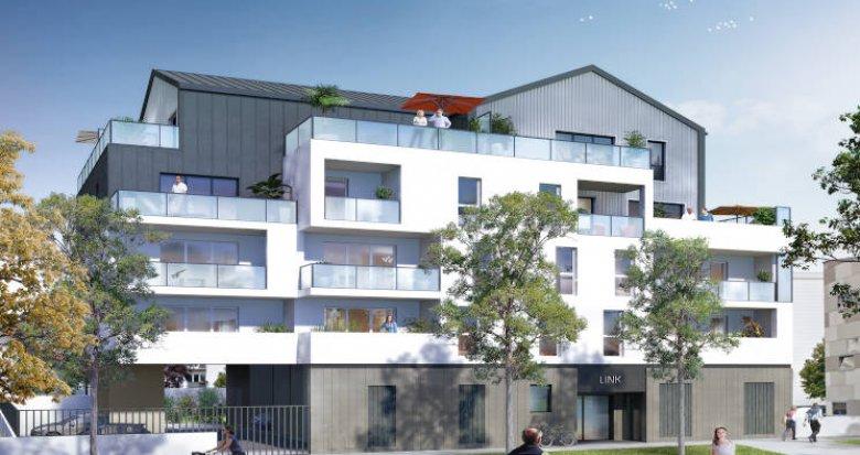 Achat / Vente appartement neuf Saint-Herblain à deux pas du tramway (44800) - Réf. 4272