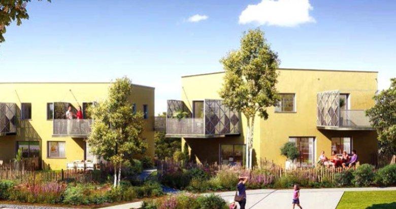Achat / Vente appartement neuf Saint-Herblain éco-quartier de la Pelousière (44800) - Réf. 487