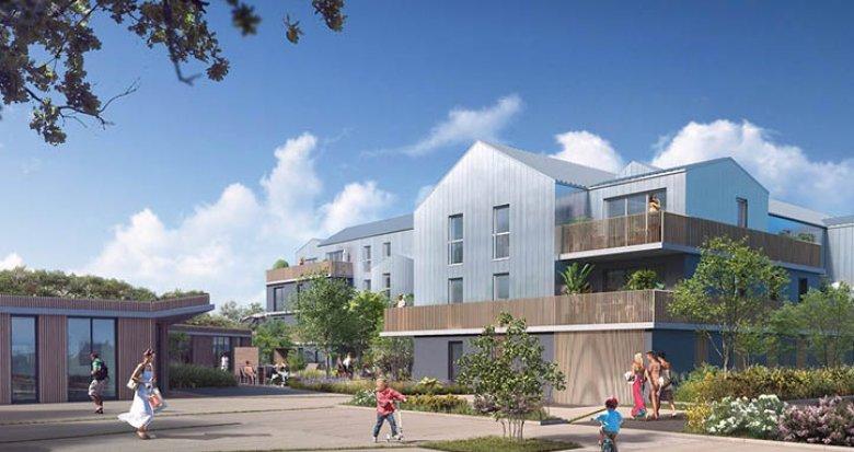 Achat / Vente appartement neuf Saint-Herblain écoquartier de Bagatelle (44800) - Réf. 1447