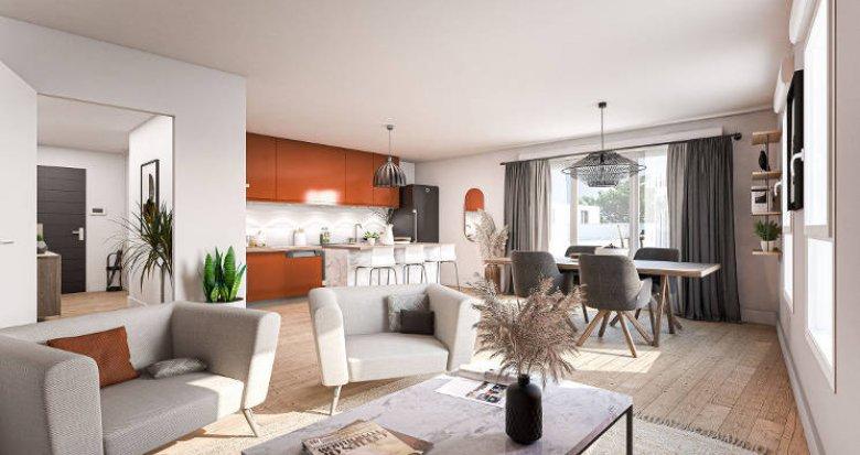 Achat / Vente appartement neuf Saint-Herblain proche bus 81 (44800) - Réf. 5824