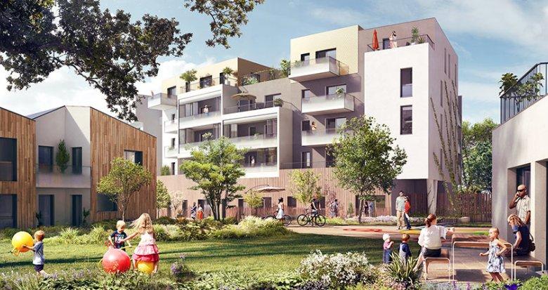 Achat / Vente appartement neuf Saint-Herblain proche des commerces (44800) - Réf. 1722