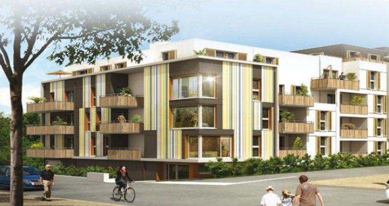 Achat / Vente appartement neuf Saint-Herblain proche des espaces verts (44800) - Réf. 25