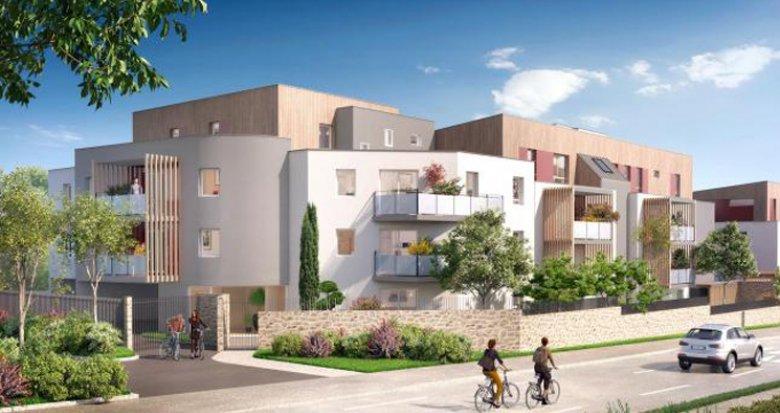 Achat / Vente appartement neuf Saint Herblain proche parc de la Bégraisière (44800) - Réf. 3486