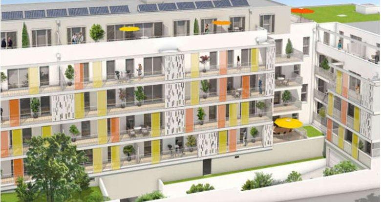 Achat / Vente appartement neuf Saint-Herblain proche Parc de la Begraisière (44800) - Réf. 1541