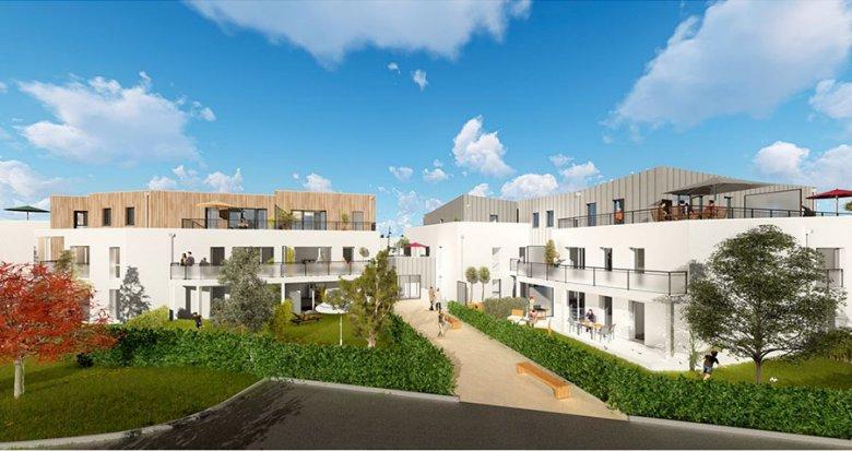 Achat / Vente appartement neuf Saint-Herblain proche portes de Nantes (44800) - Réf. 543
