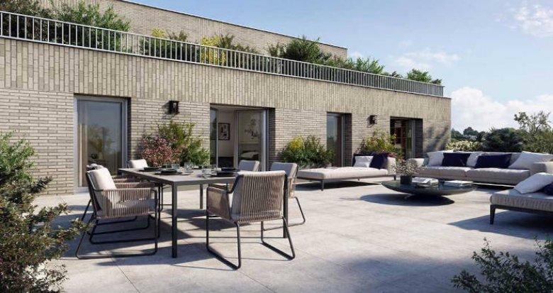 Achat / Vente appartement neuf Saint-Herblain proche tram Neruda (44800) - Réf. 6024