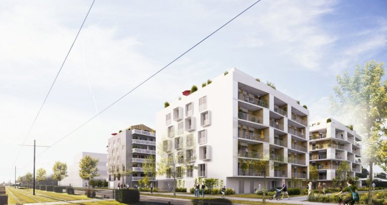 Achat / Vente appartement neuf Saint Herblain proche tramway 1 (44800) - Réf. 458