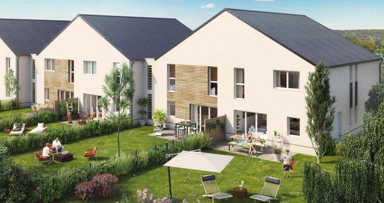 Achat / Vente appartement neuf Saint-Herblain quartier du Bourg (44800) - Réf. 513