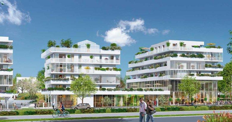 Achat / Vente appartement neuf Saint-Herblain Quartier Polyclinique (44800) - Réf. 2201