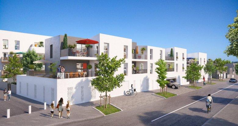 Achat / Vente appartement neuf Saint-Nazaire à 1 minute du bus (44600) - Réf. 3931