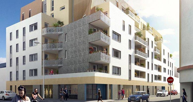 Achat / Vente appartement neuf Saint-Nazaire au coeur du centre (44600) - Réf. 1723