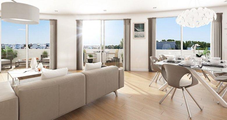 Achat / Vente appartement neuf Saint-Nazaire proche gare et centre-ville (44600) - Réf. 5655